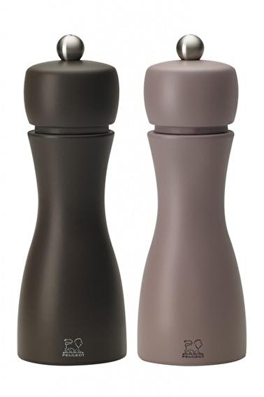Peugeot Tahiti Tuz Ve Karabiber Değirmen Seti 15 Cm Kahve